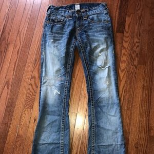 True Religion Billy Big T Heritage Pockets Rare 29